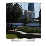 City Way Shower Curtain