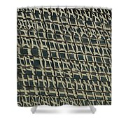 City Windows Abstract Shower Curtain