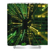 City Zoom II Shower Curtain