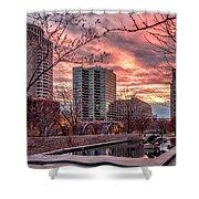 Citygarden Gateway Mall St Louis Mo Dsc01485 Shower Curtain