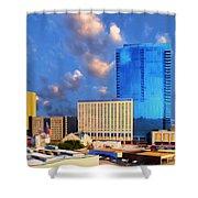 Cityscape 2 Shower Curtain