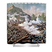 Civil War, 1864 Shower Curtain