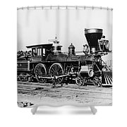Civil War: Andrews Raid Shower Curtain
