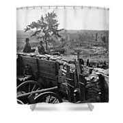 Civil War: Atlanta, 1864 Shower Curtain