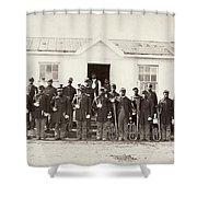 Civil War: Band, 1865 Shower Curtain