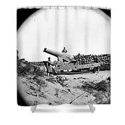 Civil War: Fort Fisher, 1865 Shower Curtain