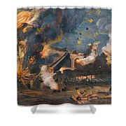 Civil War: Fort Sumter 1861 Shower Curtain