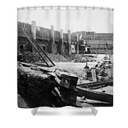 Civil War: Fort Sumter Shower Curtain