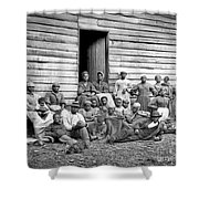 Civil War: Freed Slaves Shower Curtain