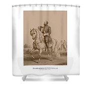 Civil War General James Garfield Shower Curtain