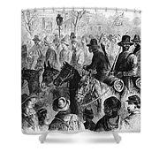 Civil War: Prisoner, 1864 Shower Curtain