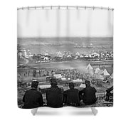 Civil War: Union Camp, 1862 Shower Curtain
