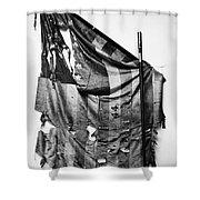 Civil War: Union Flag Shower Curtain