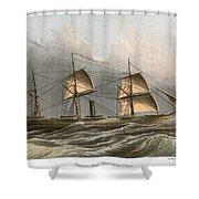 Civil War: Uss Kearsarge Shower Curtain