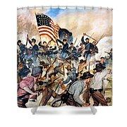 Civil War: Vicksburg, 1863 Shower Curtain