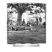 Civil War: Wounded Shower Curtain