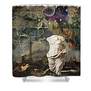 Civilization I Shower Curtain