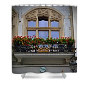 Clack Theater Shower Curtain
