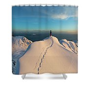 Clad000148 Shower Curtain