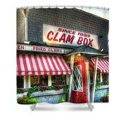 Clam Box Restaurant - Ipswich Ma Shower Curtain by Joann Vitali