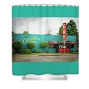 Clanton's Cafe Shower Curtain
