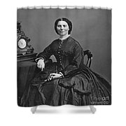 Clara Barton (1821-1912) Shower Curtain