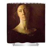 Clara Clara J Mather Shower Curtain
