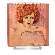 Clara, Redhead Shower Curtain