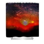 Clare Sunset Shower Curtain