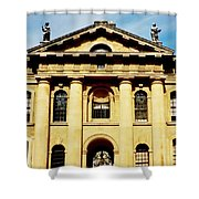 Clarendon Building, Broad Street, Oxford Shower Curtain