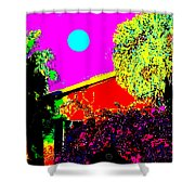 Clarendon Street Shower Curtain by Eikoni Images