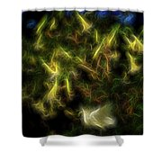 Clarion Call Shower Curtain