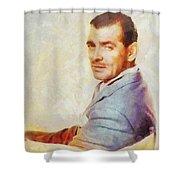 Clark Gable, Actor Shower Curtain
