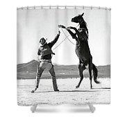 Clark Gable, The Misfits Shower Curtain
