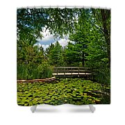 Clark Gardens Botanical Park Shower Curtain