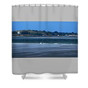 Clarks Island And Saquish Neck Shower Curtain