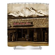 Clarks Old General Store Shower Curtain