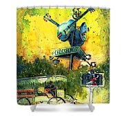Clarksdale Authentic Madness Shower Curtain