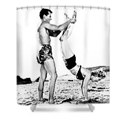Clash By Night With Marilyn Monroe Shower Curtain