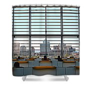 Class In The City Shower Curtain