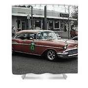 Classic 1950's Chevy Shower Curtain