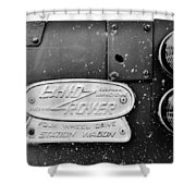 Classic Adventure Vehicle Shower Curtain