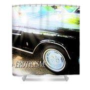 Classic Automobile, Auto Eroticism Shower Curtain