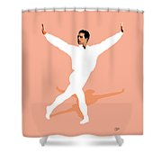 Ballet Master Dancer Shower Curtain