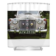Classic Cars - Rover 110  Shower Curtain