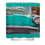 Classic Buick Shower Curtain