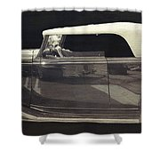 Classic Car 3 Shower Curtain