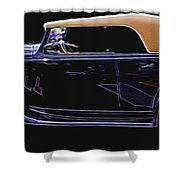 Classic Car 4 Shower Curtain