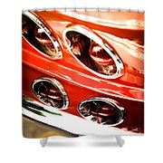 Classic Car Shower Curtain