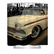 Classic Car Cheve Shower Curtain